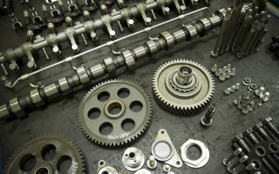 CAM SHAFTS, TIMING BEARINGS, VALVE ASSEMBLY, ETC