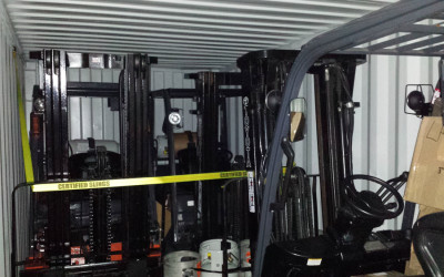 CONTAINERIZATION OF TOYOTA FORKLIFTS,   LIGHT TOWERS, AIR COMPRESSORS AND MORE