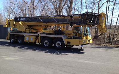 GROVE TRUCK MOUNTED CRANES ARE OUR SPECIALTIES, CALL US FOR PARTS AS WELL